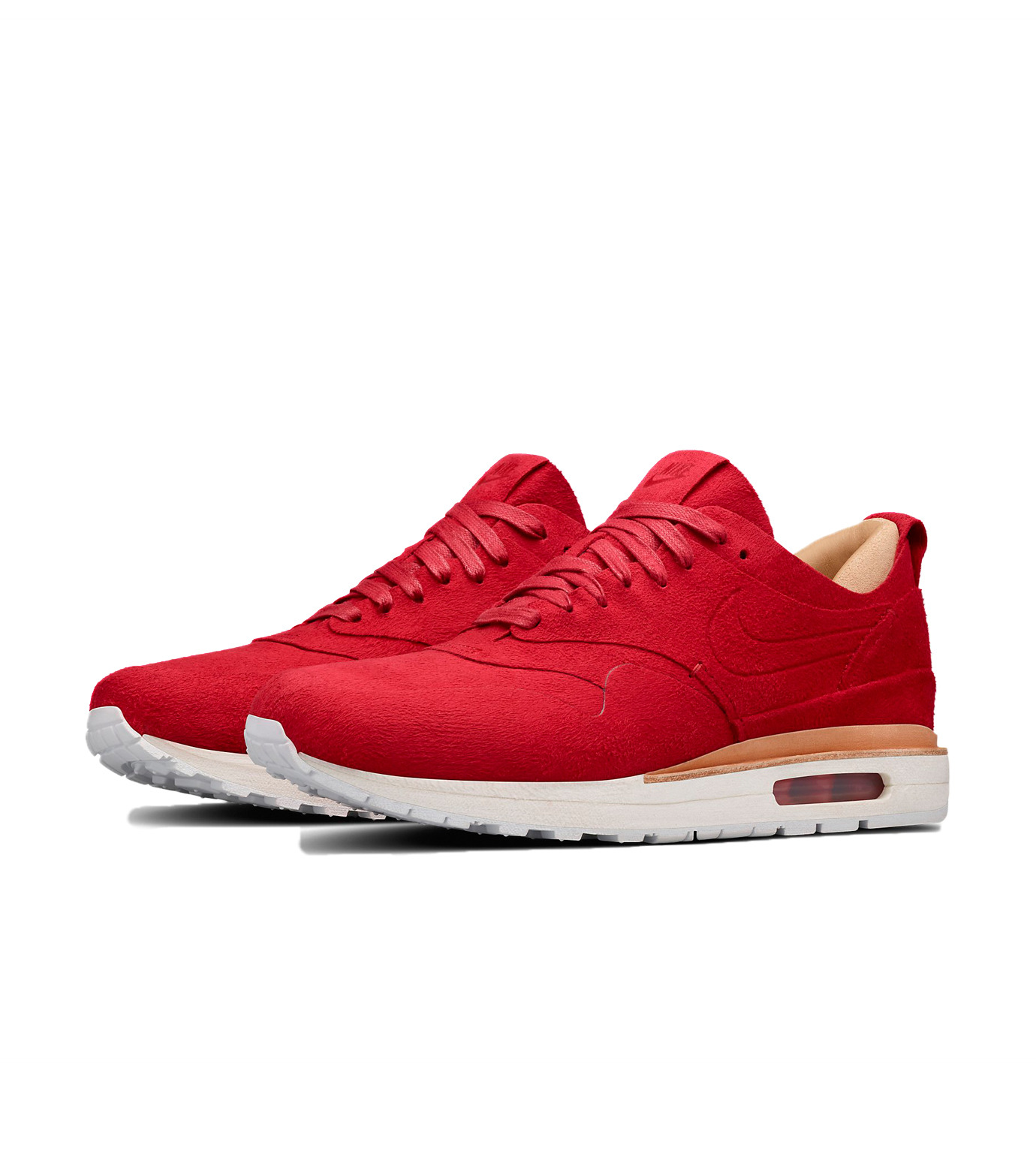 NIKE(ナイキ)のWMNS Air Max 1-RED(シューズ/shoes)-847672-661-62 拡大詳細画像3
