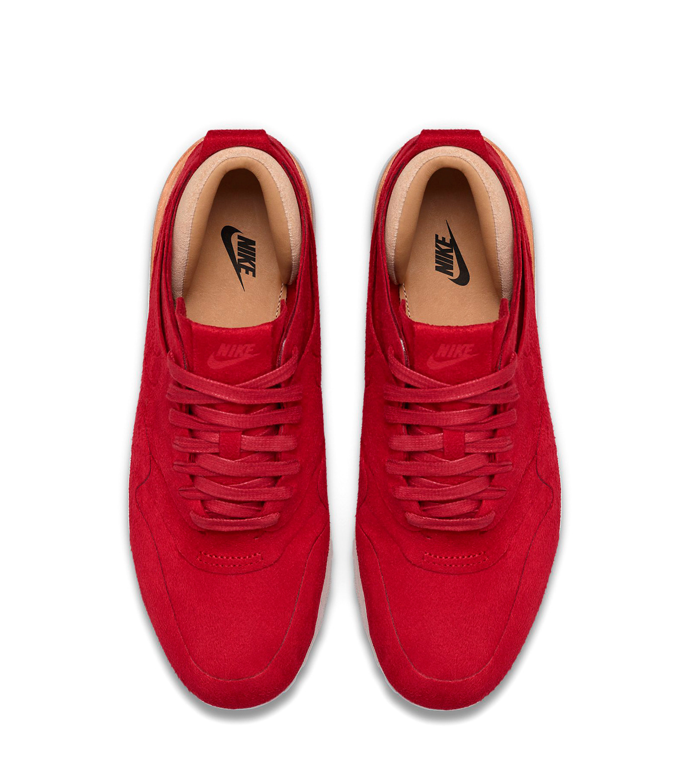 NIKE(ナイキ)のWMNS Air Max 1-RED(シューズ/shoes)-847672-661-62 拡大詳細画像4