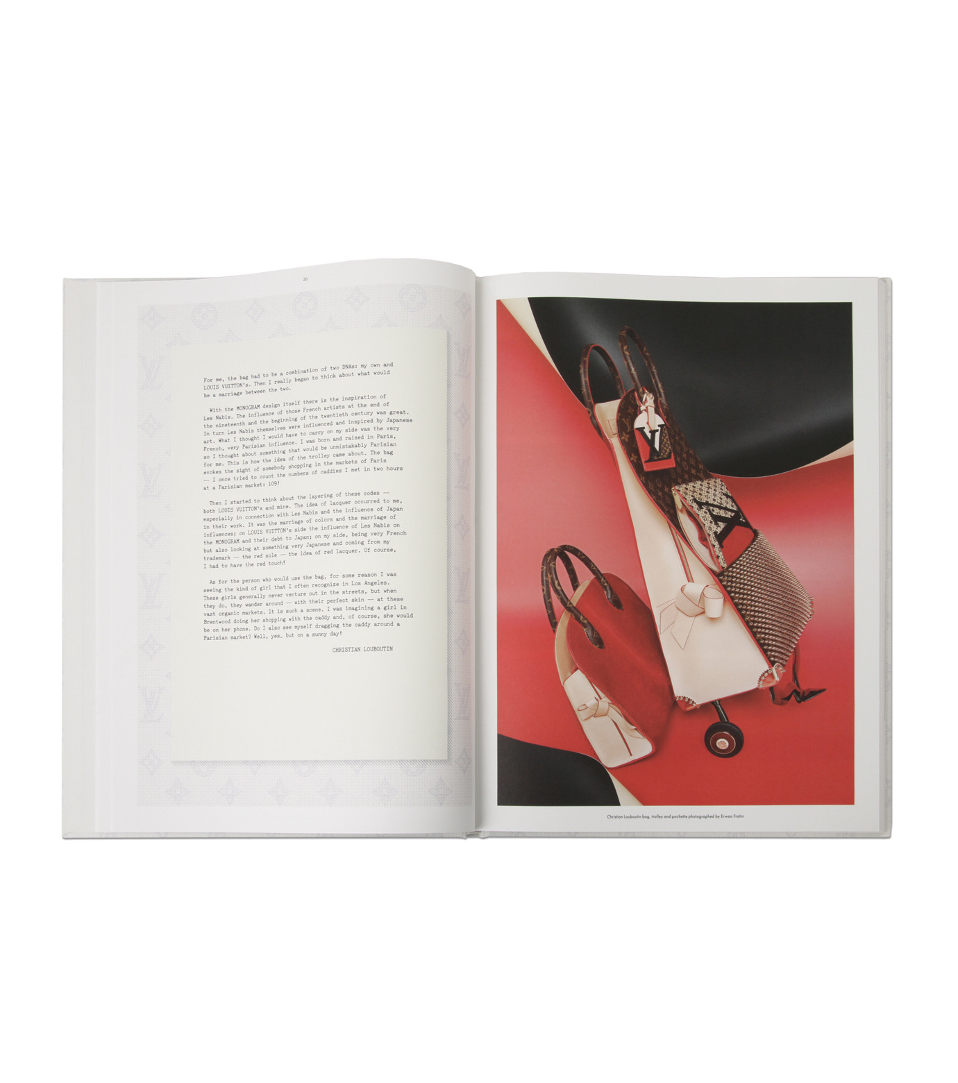 ArtBook(アートブック)のLouis Vuitton: The Icon and the Iconoclasts - A Celebration of Monogram.-WHITE(インテリア/OTHER-GOODS/interior/OTHER-GOODS)-8478-4560-6-4 拡大詳細画像2