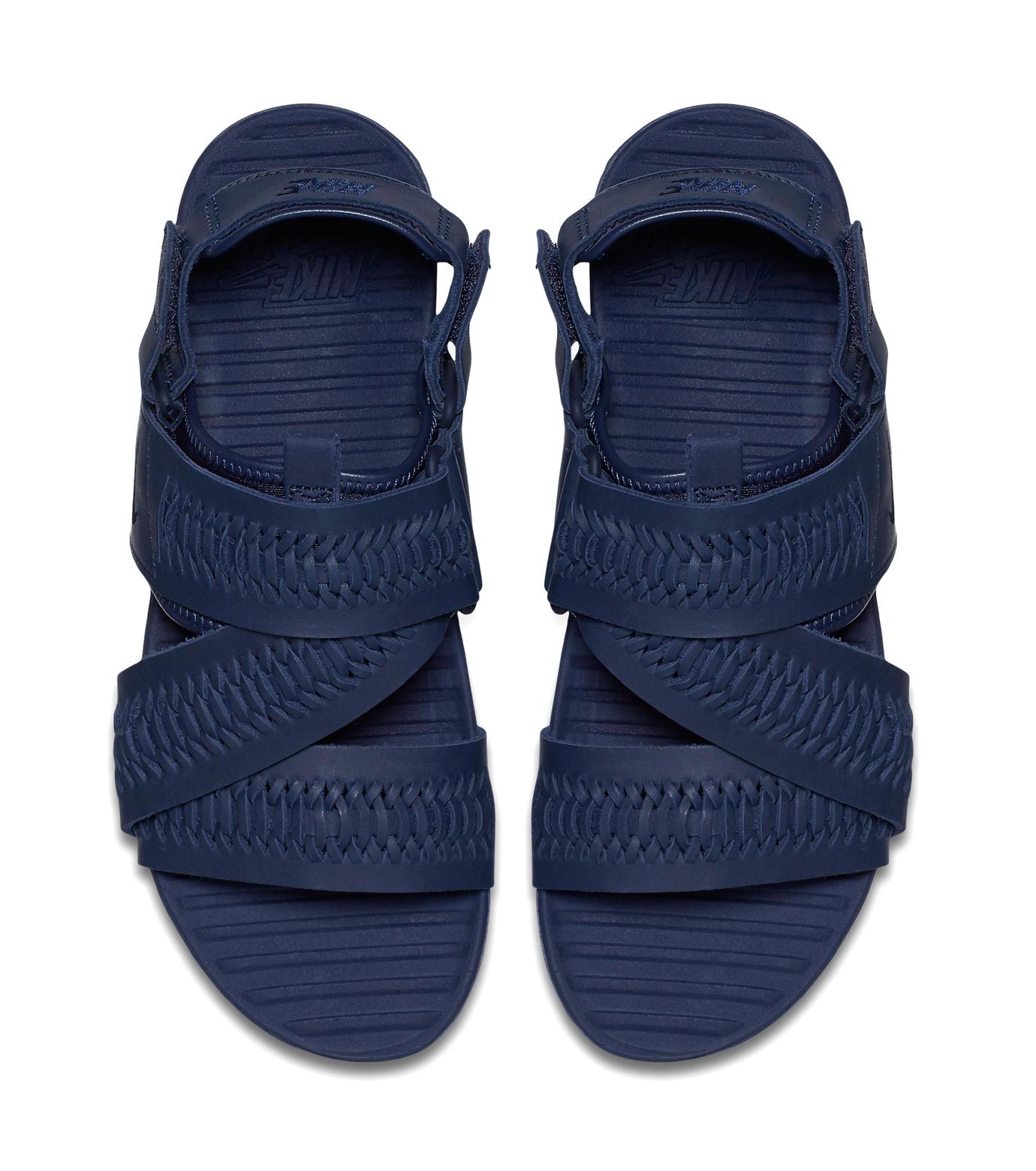 NIKE(ナイキ)のAIR SOLARSOFT ZIGZAG-BLUE(シューズ/shoes)-850588-400-92 拡大詳細画像3