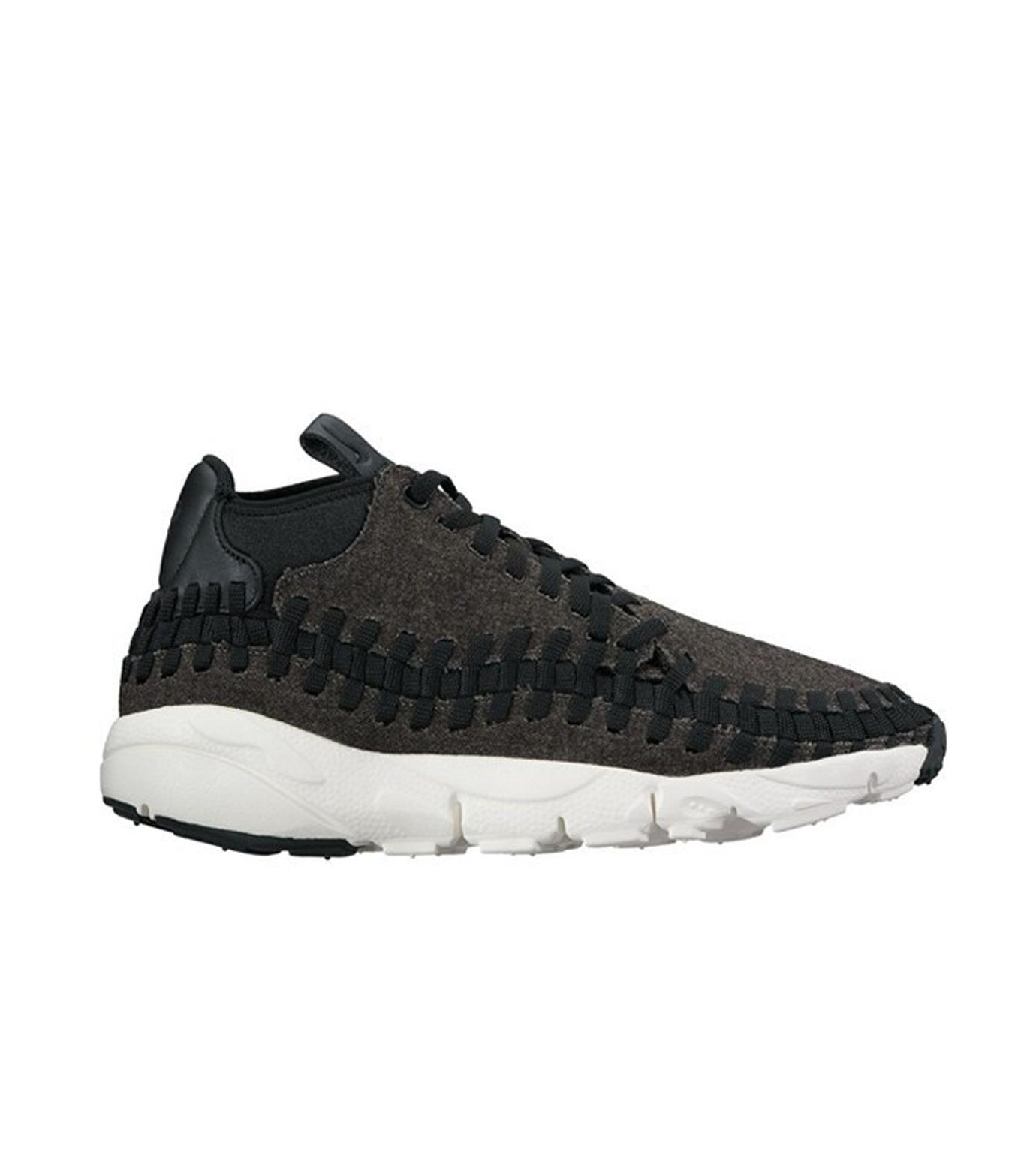 NIKE(ナイキ)のAIR FOOTSCAPE WOVEN CHUKKA SE-BLACK(シューズ/shoes)-857874-001-13 拡大詳細画像1