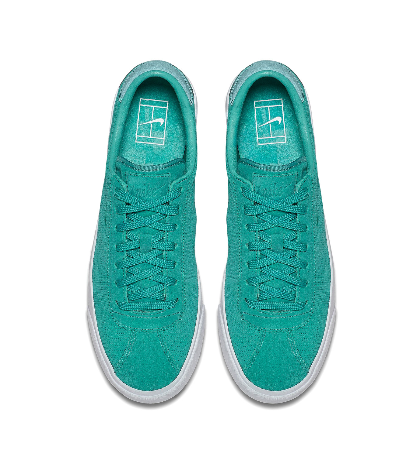 NIKE(ナイキ)のMATCH CLASSIC SUEDE-GREEN(シューズ/shoes)-864718-300-22 拡大詳細画像4