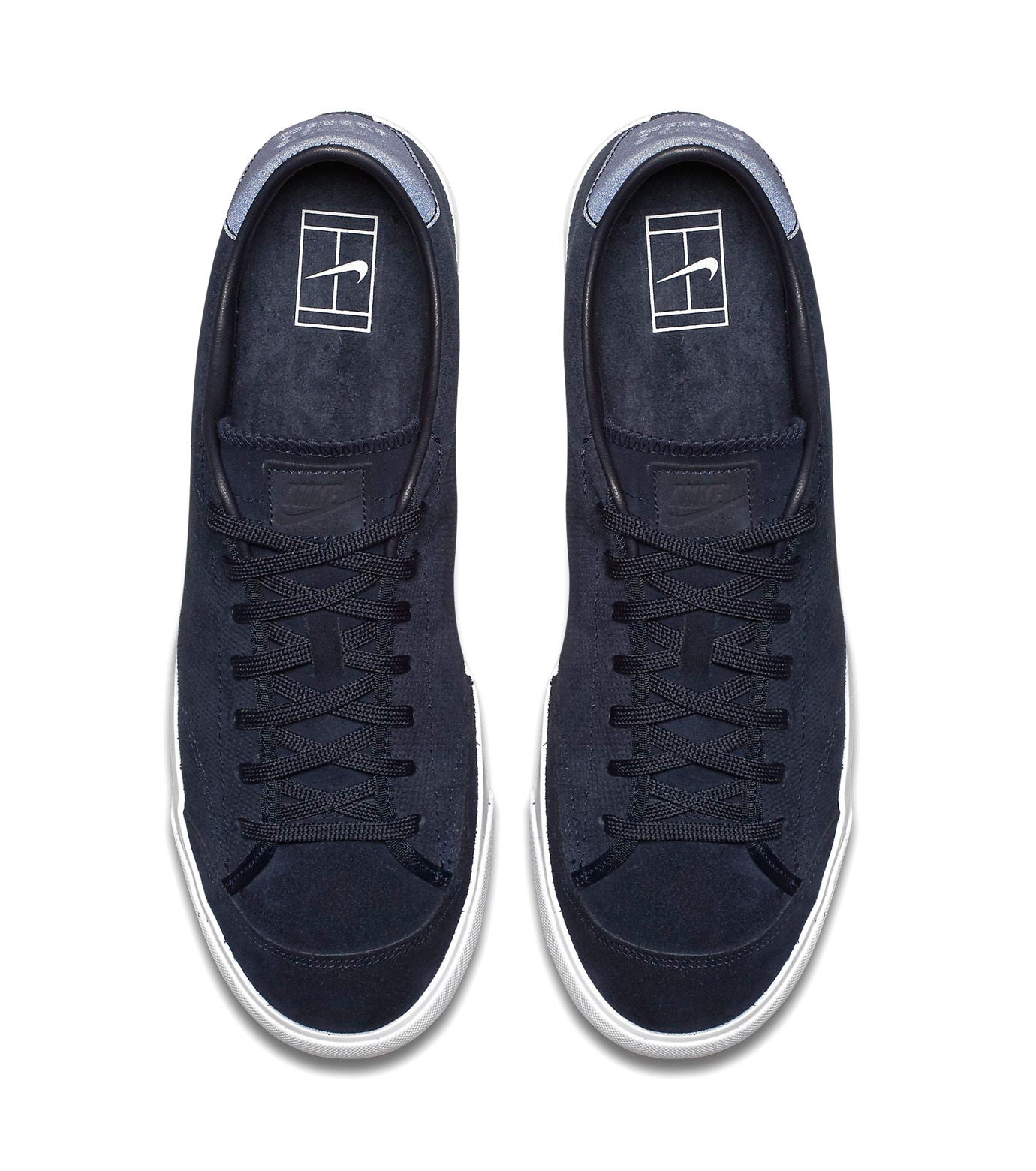 NIKE(ナイキ)のALL COURT 2 LOW-NAVY(シューズ/shoes)-864719-400-93 拡大詳細画像4
