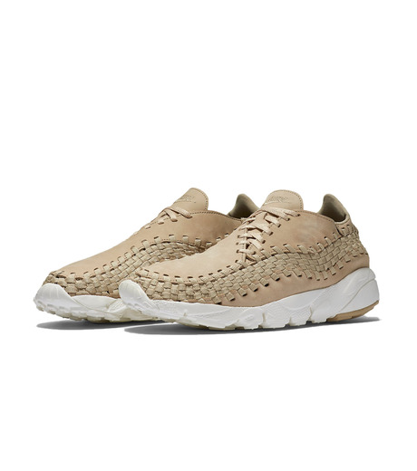 NIKE(ナイキ)のAIR FOOTSCAPE WOVEN NM-LIGHT BEIGE(シューズ/shoes)-874892-200-51 詳細画像3