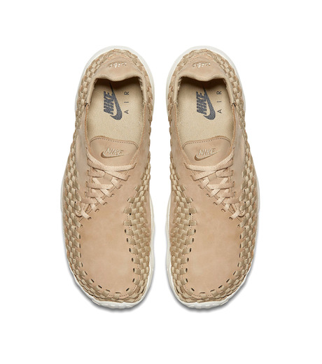 NIKE(ナイキ)のAIR FOOTSCAPE WOVEN NM-LIGHT BEIGE(シューズ/shoes)-874892-200-51 詳細画像4