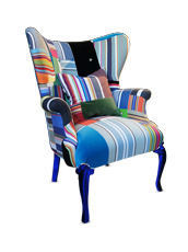 Squintlimited(スクイントリミテッド) Squint wing back chair