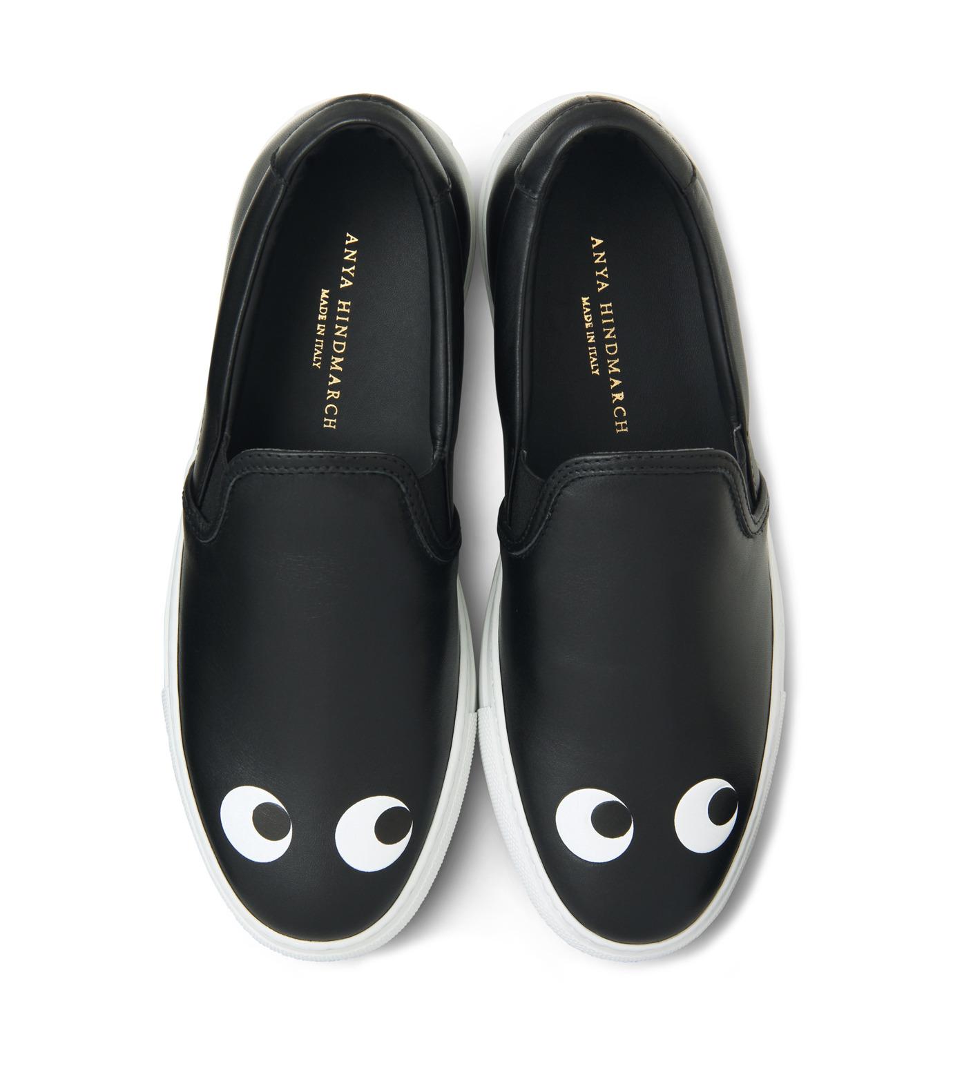 Anya Hindmarch(アニヤハインドマーチ)のSkater Eyes-BLACK(スニーカー/sneaker)-9130-13 拡大詳細画像4