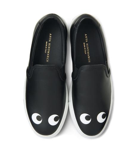 Anya Hindmarch(アニヤハインドマーチ)のSkater Eyes-BLACK(スニーカー/sneaker)-9130-13 詳細画像4