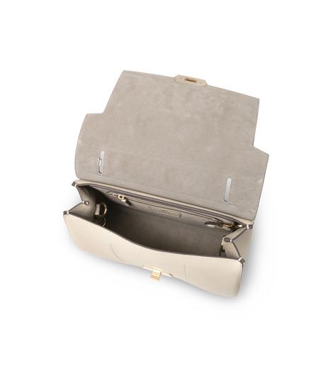 Anya Hindmarch(アニヤハインドマーチ)のBathurst Small Satchel Pixel Smiley-WHITE(ハンドバッグ/hand bag)-923248-5 詳細画像4