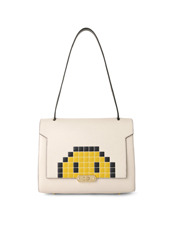 Anya Hindmarch(アニヤハインドマーチ) Bathurst Small Satchel Pixel Smiley