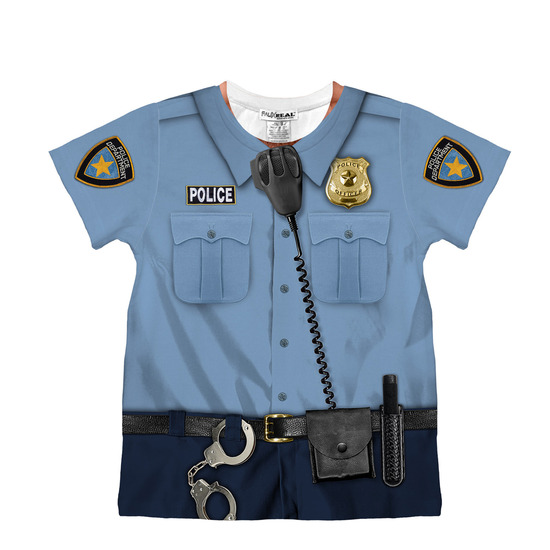 faux real()のToddler Policeman-BLUE(OTHER-GOODS/OTHER-GOODS)-92515-92 詳細画像1