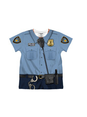 faux real Toddler Policeman