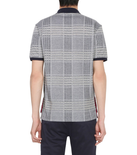 Thom Browne(トムブラウン)のCheckpolo-NAVY(カットソー/cut and sewn)-A0163C10070-93 詳細画像2