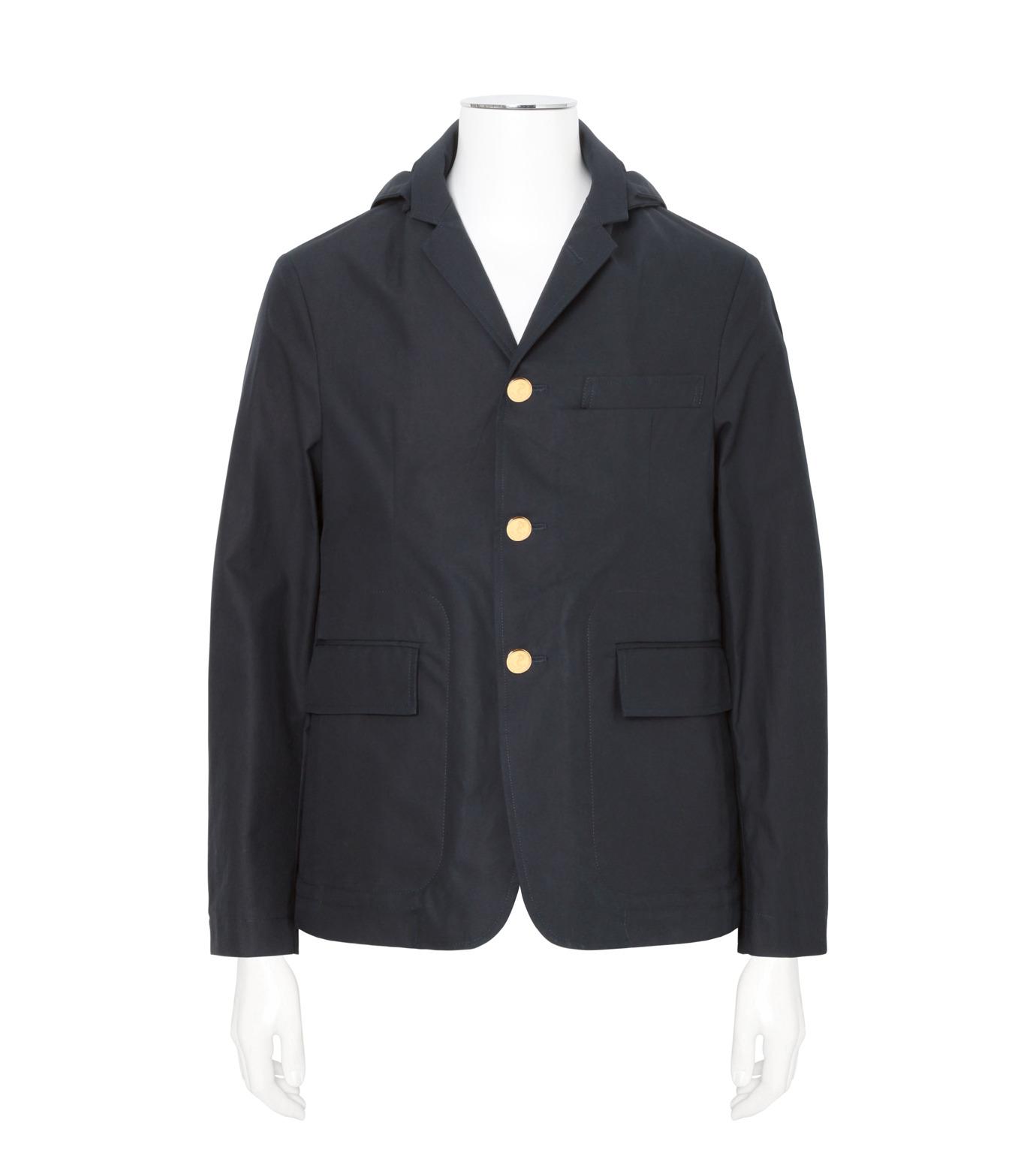 Thom Browne(トムブラウン)のDetachable Hood Jacket-NAVY(ジャケット/jacket)-A0163I20170-93 拡大詳細画像1
