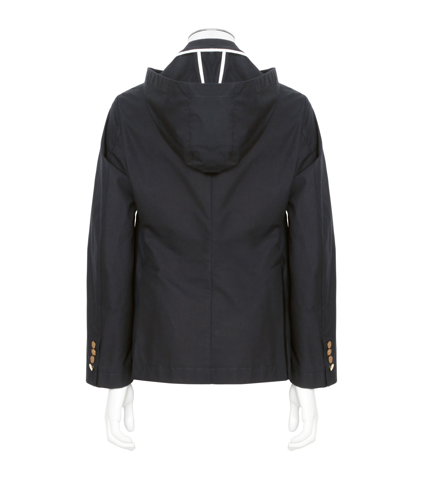 Thom Browne(トムブラウン)のDetachable Hood Jacket-NAVY(ジャケット/jacket)-A0163I20170-93 拡大詳細画像2