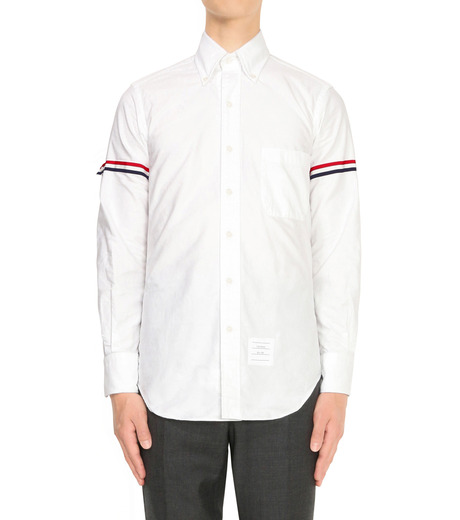 Thom Browne(トムブラウン)のArmband Shirt-WHITE(シャツ/shirt)-A0164A41410-4 詳細画像1