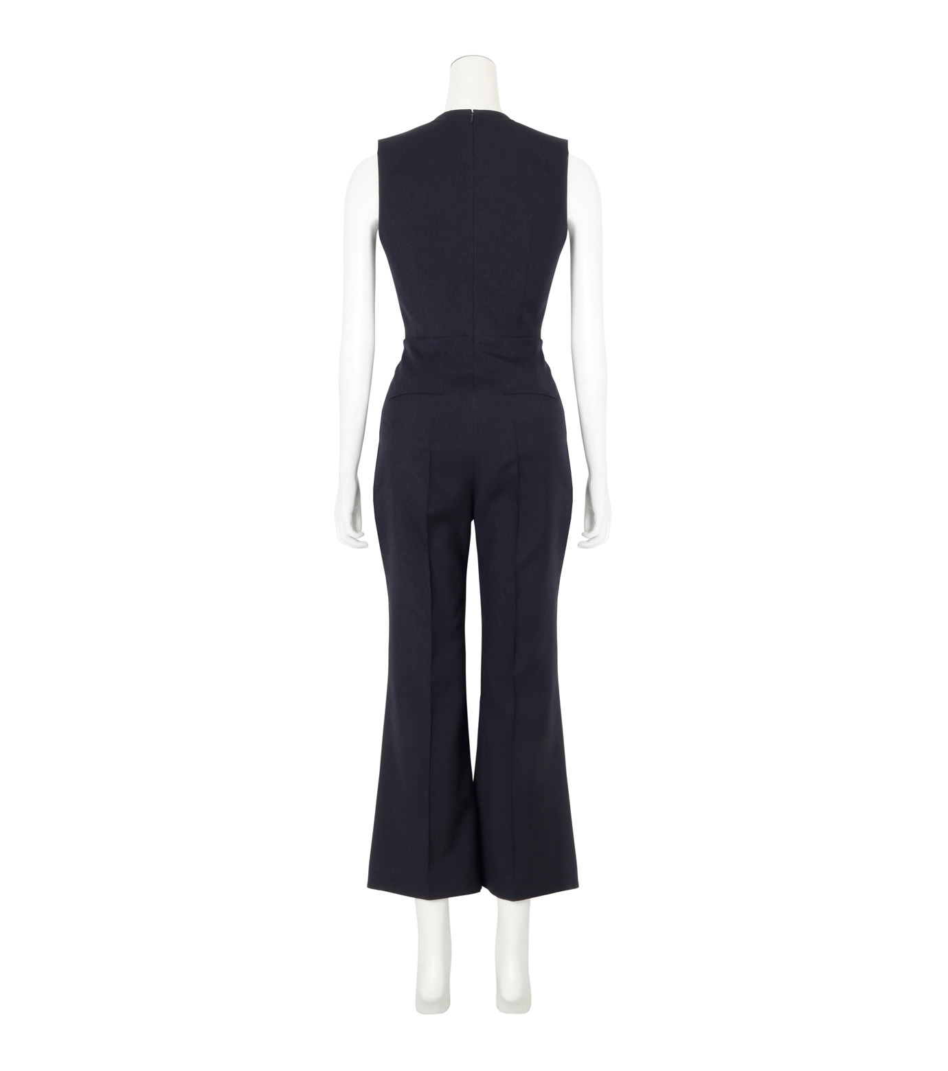 Roksanda(ロクサンダ)のSonia Jumpsuit Flare Leg-NAVY(ワンピース/one piece)-A042-1-93 拡大詳細画像2