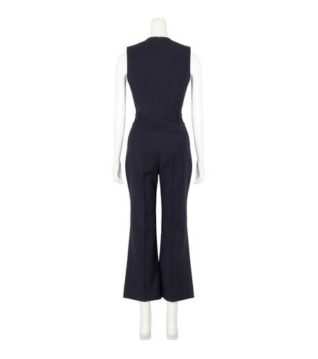 Roksanda(ロクサンダ)のSonia Jumpsuit Flare Leg-NAVY(ワンピース/one piece)-A042-1-93 詳細画像2