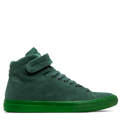 Pierre Hardy(ピエール アルディ)のSuede Calf-GREEN-A1101 詳細画像1