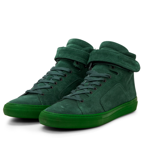 Pierre Hardy(ピエール アルディ)のSuede Calf-GREEN-A1101 詳細画像4