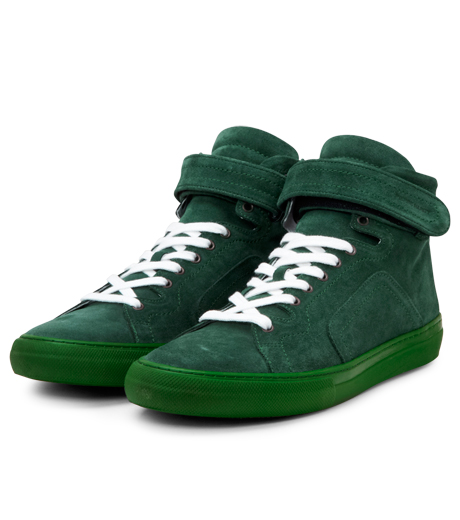 Pierre Hardy(ピエール アルディ)のSuede Calf-GREEN-A1101 詳細画像5