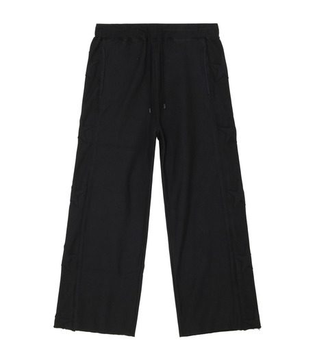 CONVERSE TOKYO ONE(コンバース トウキョウ ワン)のStar Patch Easy Pants-BLACK-A2868UP119-13 詳細画像1