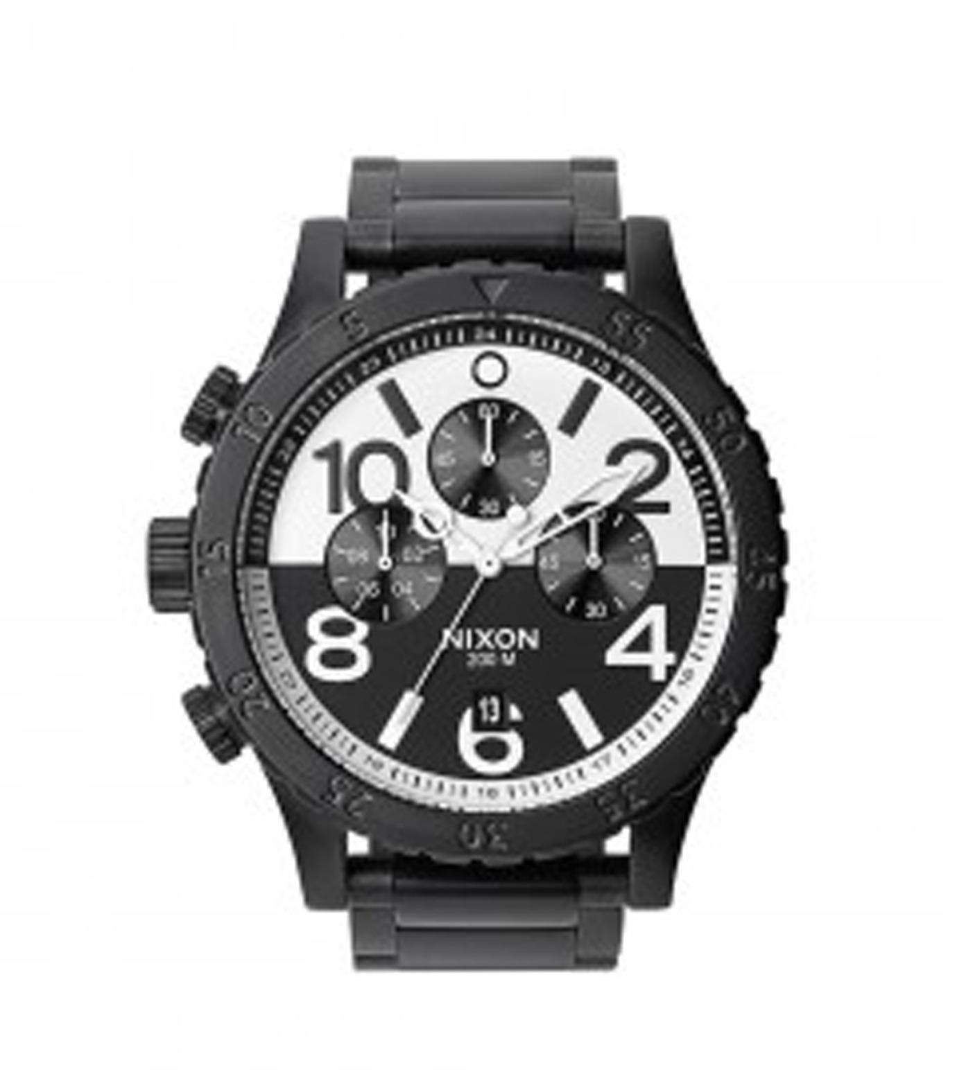 Nixon(ニクソン)の48-20 CHRONO-BLACK(ウォッチ/watch)-A486-13 拡大詳細画像1