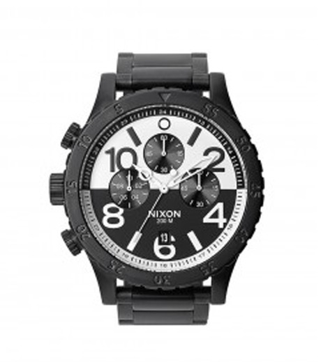 Nixon(ニクソン)の48-20 CHRONO-BLACK(ウォッチ/watch)-A486-13 詳細画像1
