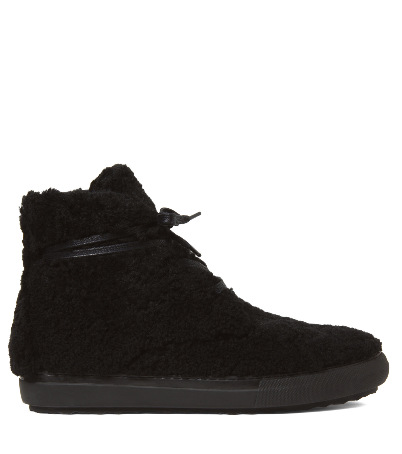 Pierre Hardy(ピエール アルディ)のMoutonChuckerBoots-BLACK(シューズ/shoes)-A4GX02SHEARL-13 拡大詳細画像1