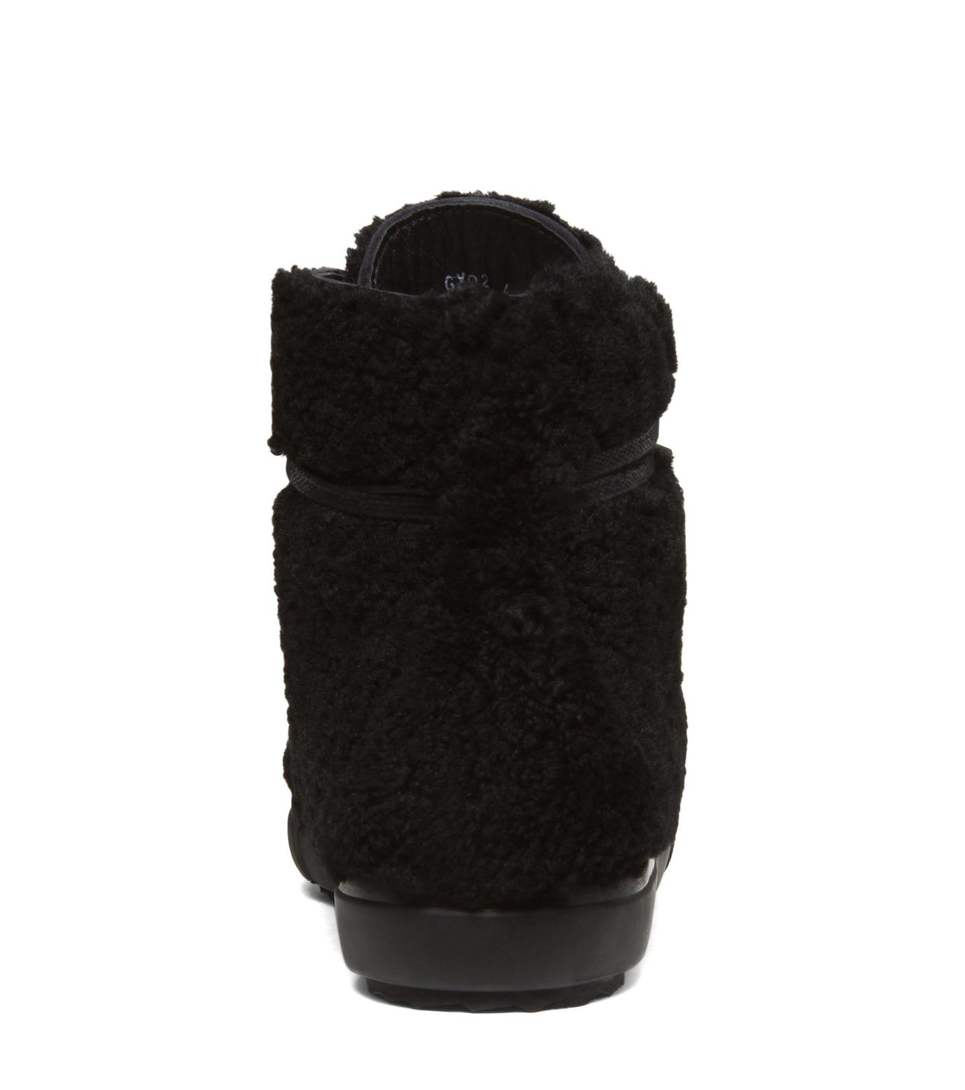 Pierre Hardy(ピエール アルディ)のMoutonChuckerBoots-BLACK(シューズ/shoes)-A4GX02SHEARL-13 拡大詳細画像3