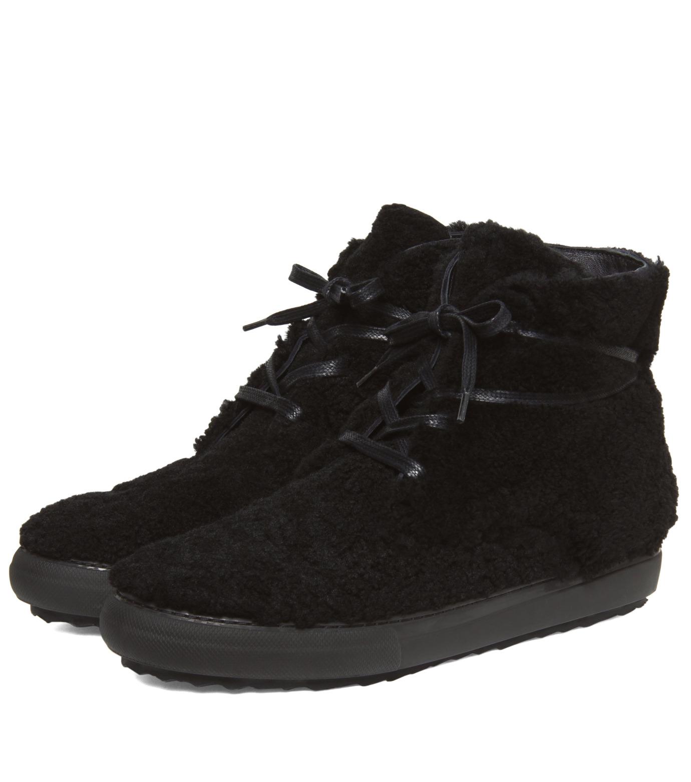 Pierre Hardy(ピエール アルディ)のMoutonChuckerBoots-BLACK(シューズ/shoes)-A4GX02SHEARL-13 拡大詳細画像4
