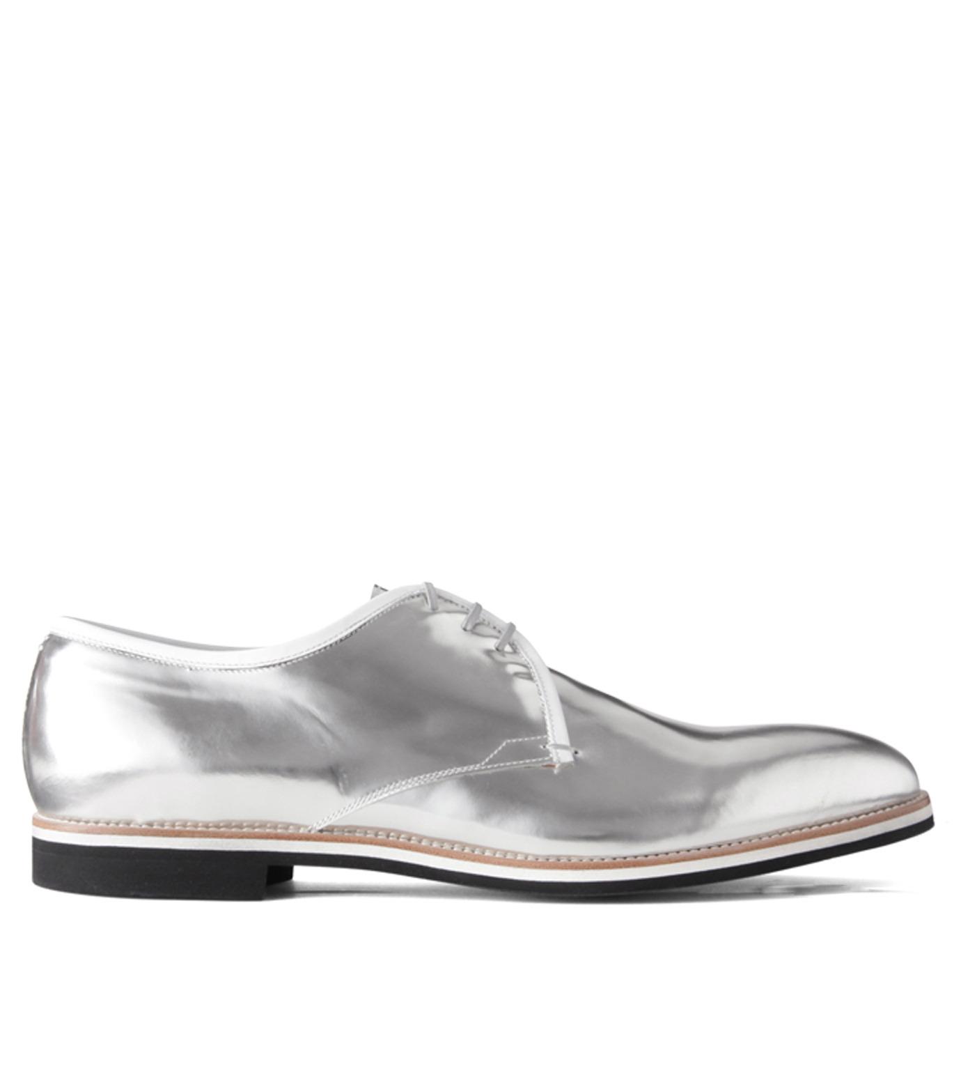 Sergio Rossi(セルジオ ロッシ)のDerby-SILVER(シューズ/shoes)-A61190-1 拡大詳細画像1