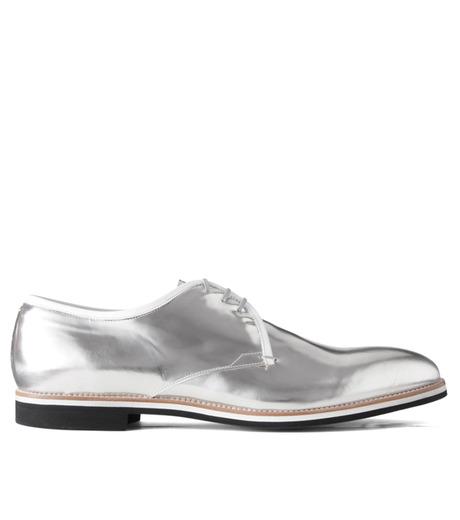 Sergio Rossi(セルジオ ロッシ)のDerby-SILVER(シューズ/shoes)-A61190-1 詳細画像1
