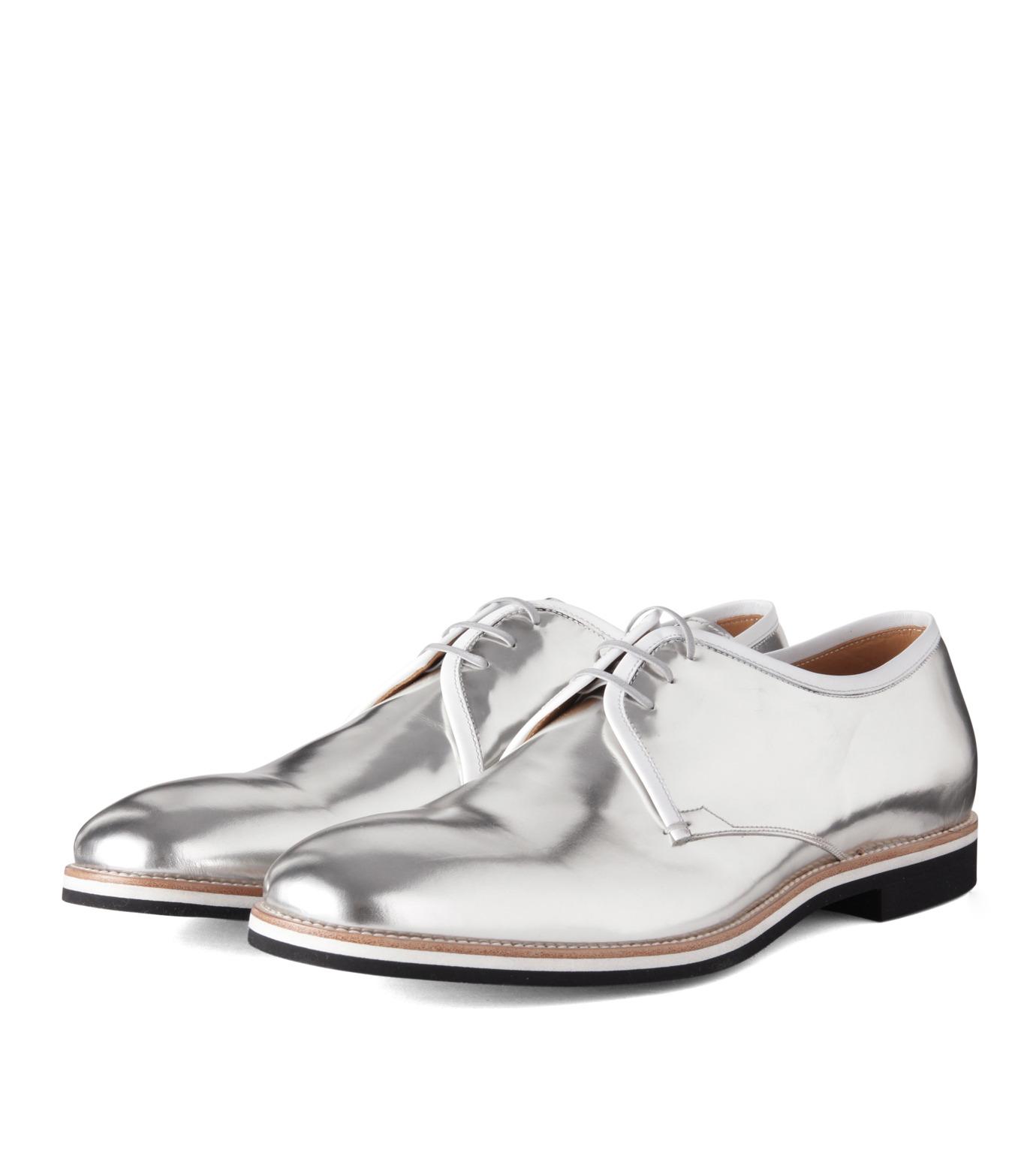 Sergio Rossi(セルジオ ロッシ)のDerby-SILVER(シューズ/shoes)-A61190-1 拡大詳細画像4