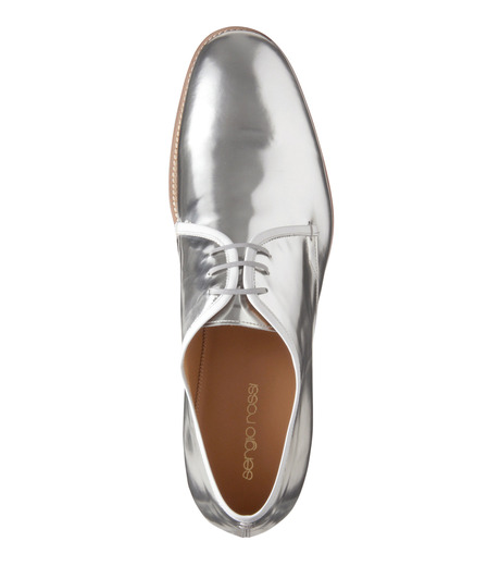 Sergio Rossi(セルジオ ロッシ)のDerby-SILVER(シューズ/shoes)-A61190-1 詳細画像5