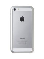 SQUAIR Duralumin Bumper iPhone5/5S SILVER