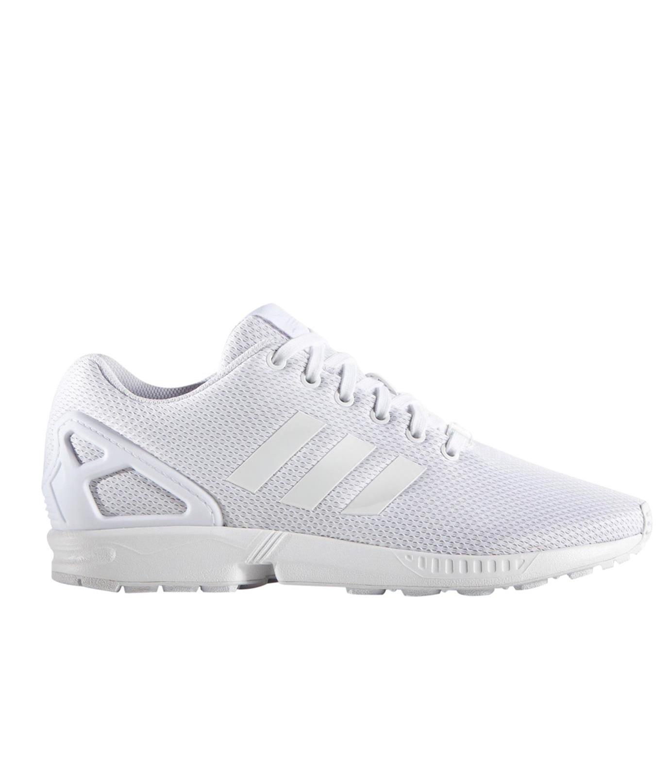 adidas(アディダス)のadidas ZX FLUX-WHITE(シューズ/shoes)-AF6403-4 拡大詳細画像1