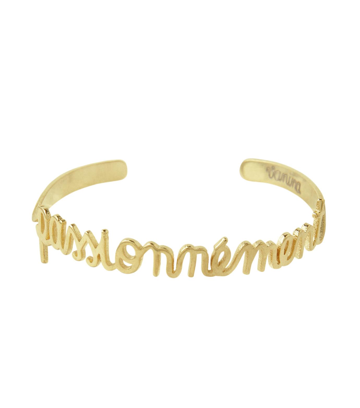 VANINA(バニーナ)のPassionnement Bracelet-GOLD(アクセサリー/accessory)-AMOUR-Pass-L 拡大詳細画像1
