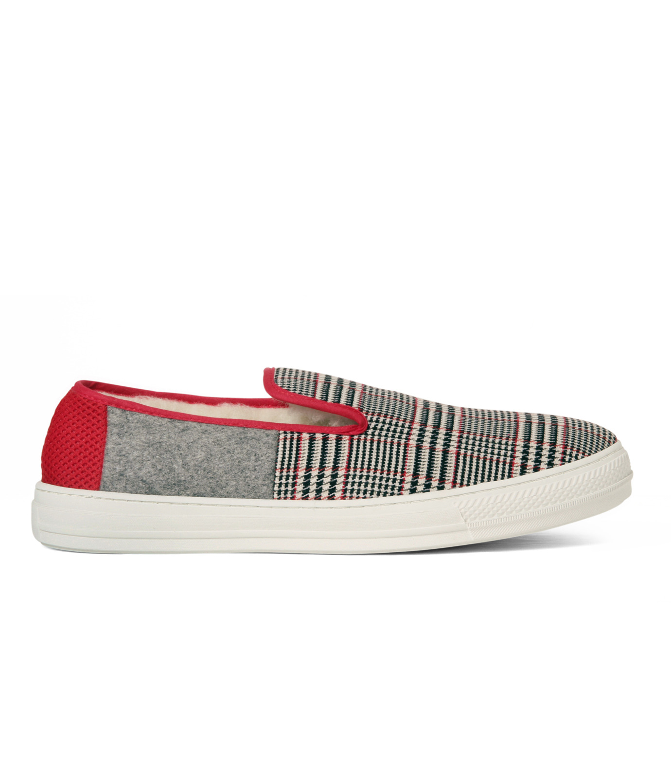 TAISE by SOUSTS(TAISE by SOUSTS)のANATOLE Grey/Red-GRAY(スニーカー/sneaker)-ANATOLE-11 拡大詳細画像1