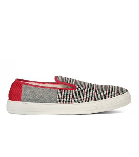 TAISE by SOUSTS(TAISE by SOUSTS)のANATOLE Grey/Red-GRAY(スニーカー/sneaker)-ANATOLE-11 詳細画像1