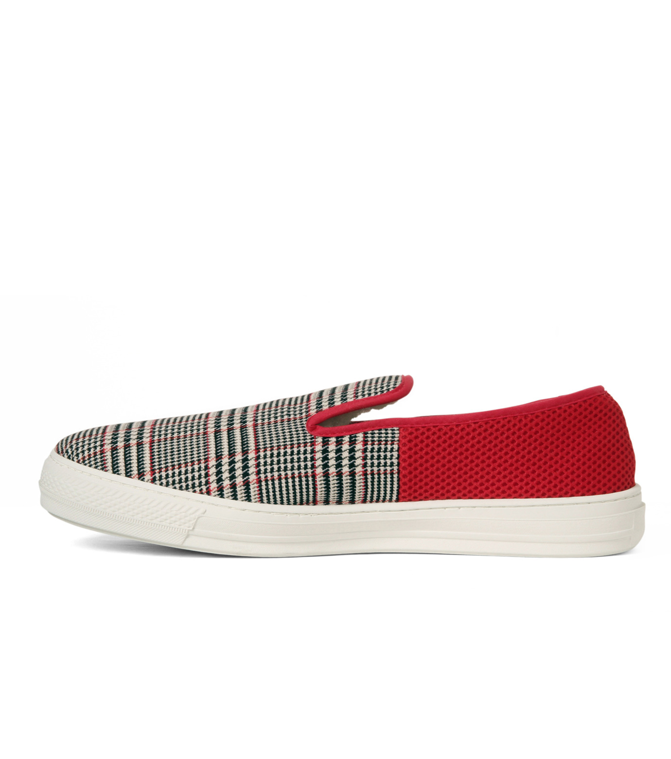 TAISE by SOUSTS(TAISE by SOUSTS)のANATOLE Grey/Red-GRAY(スニーカー/sneaker)-ANATOLE-11 拡大詳細画像2