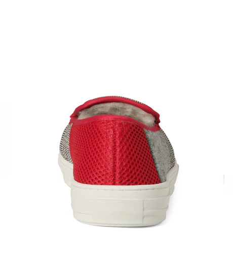 TAISE by SOUSTS(TAISE by SOUSTS)のANATOLE Grey/Red-GRAY(スニーカー/sneaker)-ANATOLE-11 詳細画像3