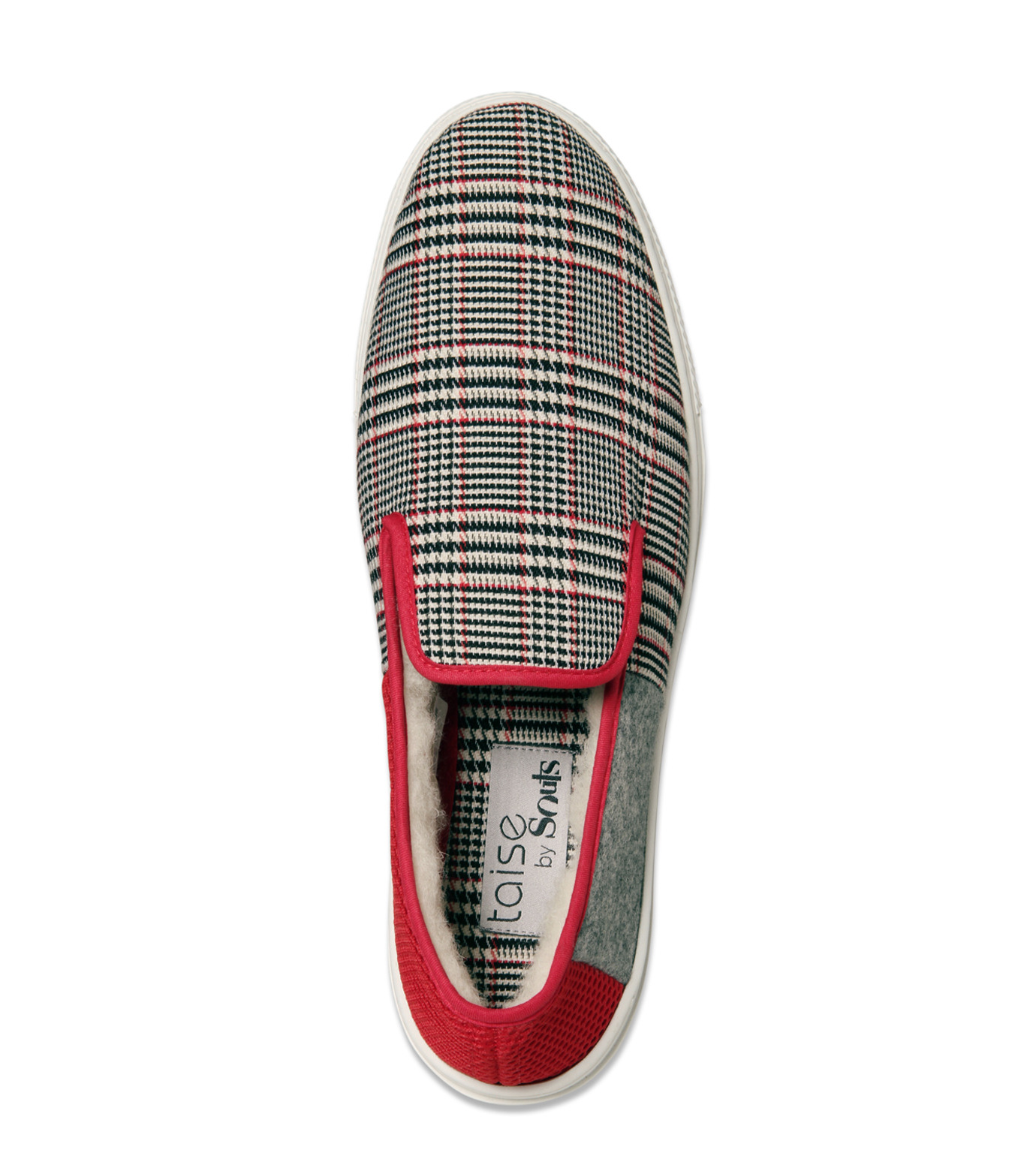 TAISE by SOUSTS(TAISE by SOUSTS)のANATOLE Grey/Red-GRAY(スニーカー/sneaker)-ANATOLE-11 拡大詳細画像5