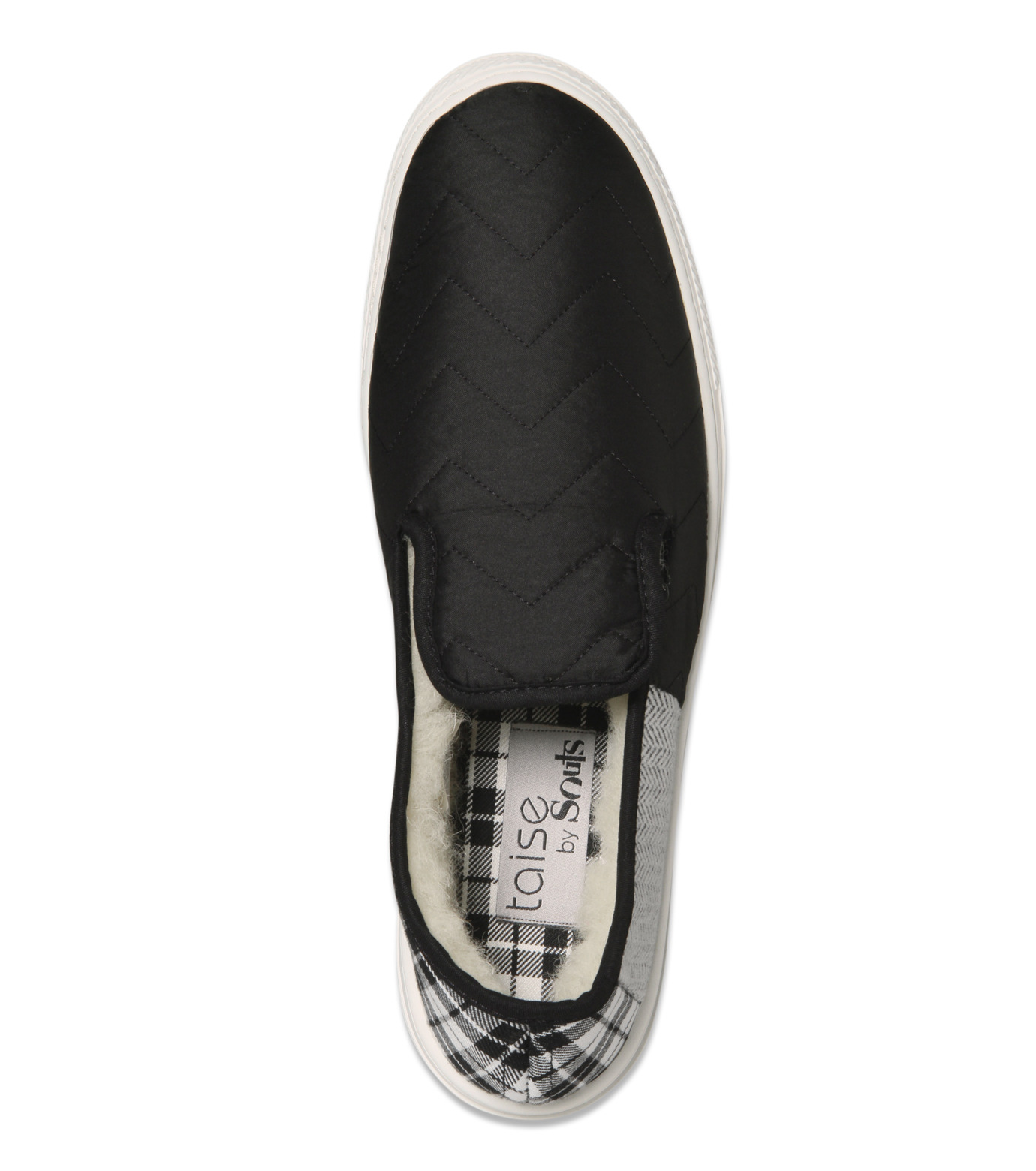 TAISE by SOUSTS(TAISE by SOUSTS)のAnatole Black Quilted-BLACK(スニーカー/sneaker)-ANATOLE-13 拡大詳細画像5