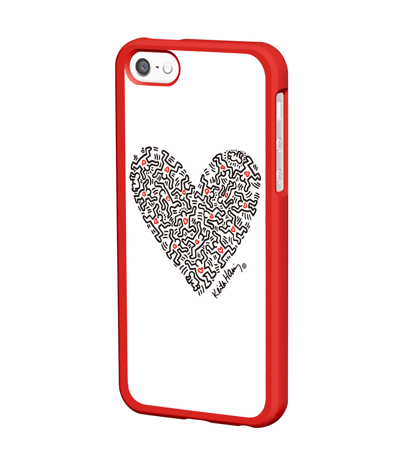 Grapht(グラフト)のBezelcase for iPhone5 with earphone-WHITE-APA06-012HE-4 拡大詳細画像1