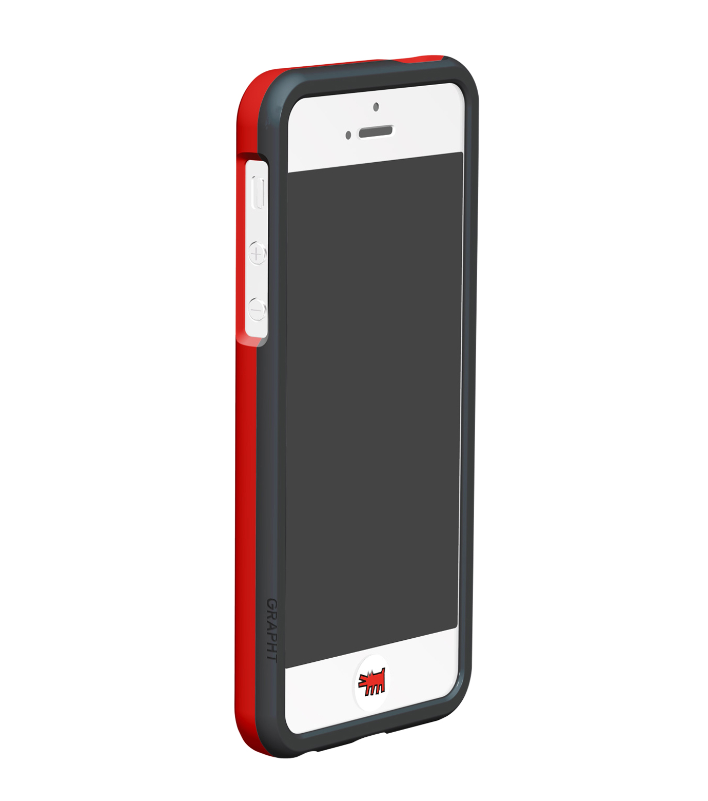 Grapht(グラフト)のBezelcase for iPhone5 with earphone-WHITE(EARPHONE/EARPHONE)-APA06-012HE-4 拡大詳細画像3