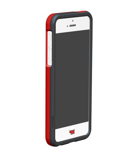 Grapht(グラフト)のBezelcase for iPhone5 with earphone-WHITE-APA06-012HE-4 詳細画像3