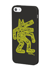 Grapht Keith Haring Glowing Silicone iphone5
