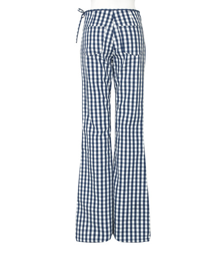 Marques Almeida(マルケスアルメイダ)のBonded Bootcut Trousers-BLUE(パンツ/pants)-AW16-043-92 詳細画像2
