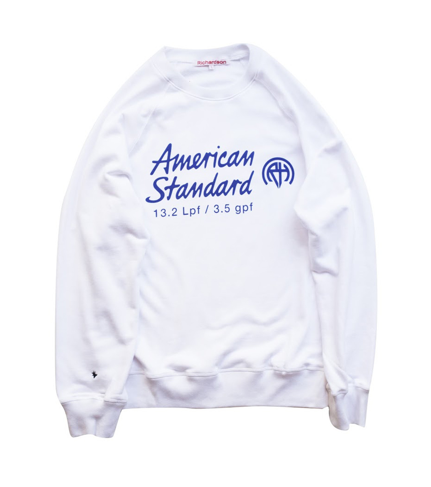 Richardson Magazine(リチャードソン マガジン)のAmerican Standard Raglan Crew-WHITE(カットソー/cut and sewn)-AW16006-4 拡大詳細画像1